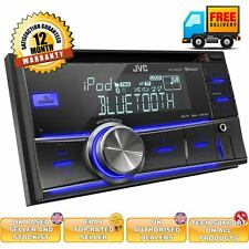 JVC KD-R600BT Double Din car Stereo system built in Bluetooth USB/AUX Input