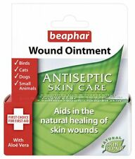 Beaphar Antiseptic Wound Ointment for Dogs Cats Birds & Small Animals 30ml