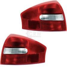 Audi A6 C5 4B 97-05 LED Rückleuchten Rot Smoke Heckleuchten Set Rücklichter Limo