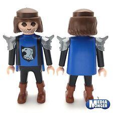 playmobil chevalier Figurine: du faucon Armure d'épaule marron Bottes bleu