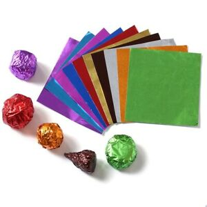 Decorations Candy Wrappers Paper Chocolates Wrapper Candy Packing Foil Sheets