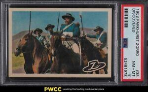 1958 Parkhurst Zorro Discovered #38 PSA 8 NM-MT