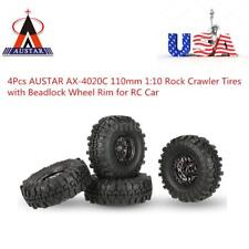 Pop 4X AUSTAR AX-4020C 1.9 Inch 110mm 1/10 Rock Crawler Car Tires Wheel Rims