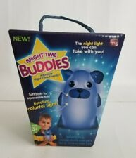 Bright Time Buddies Dog Night Light Lamp Sleeping Buddy And Playtime New