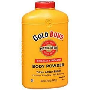Gold Bond Body Powder Medicated, 10 Oz (3 Pack)