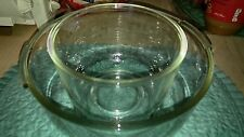 Oster Regency Kitchen Center thick glass bowls excellent shape CLEAR