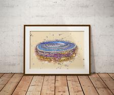Tottenham Stadium print, poster, prints, posters, watercolour, wallart, gift