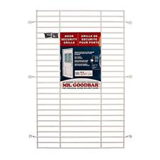 Security Bars Door Grille 24 x 36 in. Window Garage Tamper Resistant Steel White