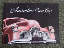 HOLDEN 1953  FX  (48/215) SALES BROCHURE  100% GUARANTEE.