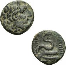 Pergamon Mysien Bronze nach 133 Asklepios Schlange Omphalos SNG v. Aul. 1372