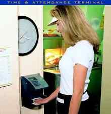 New Hand Punch 3000 Biometric Time Clock 1 Year Warranty Handpunch Authorized