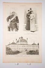 La estancia de la familia imperial Rusia en Dinamarca ext de'ilustración