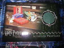 HARRY POTTER POA AZKABAN PROP CARD 264/484 DERVISH AND BANGES BAG AUTHENTIC MINT