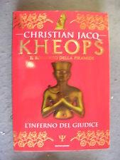 CHRISTIAN JACQ - KHEOPS #1: L'INFERNO DEL GIUDICE - MONDADORI - OTTIMO -MT16