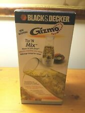 Black And Decker Gizmo Tip 'N Mix Automatic Dressing Mixer New