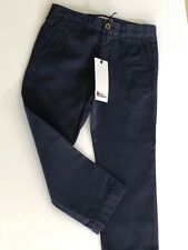 Boys Designer Navy  Chino Trousers Age 4-5  ABC123me  New  RRP£39.00