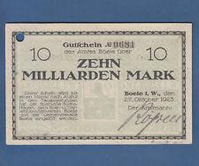 BOELE 10 Milliarden Mark 1923 II / XF