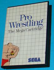 Pro Wrestling - Sega Master System - PAL