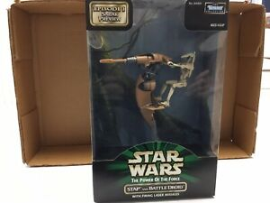 Star Wars STAP with BATTLE DROID Episode I Sneak Preview Power of the Force 1998