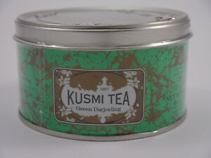 KUSMI TEA  PARIS *Green Darjeeling * Metalldose 125 Gramm MHD 11/2020