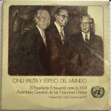 ONU -PAUTA Y ESPEJO DEL MUNDO- SEALED 1971 MEXICAN LP X 2 GATEFOLD POLITICAL