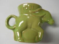 1981 FRANKOMA DONKEY DEMOCRATIC  PARTY MUG CUP-GREEN