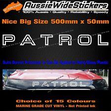 For Nissan PATROL gu gq 4x4 UTE Bonnet Protector canopy sticker 500mm