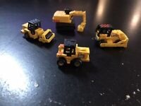MICRO MACHINES - CONSTRUCTION COLLECTION LOT (4) - 1987 GALOOB NO. 6400 VINTAGE