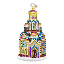 Christopher Radko - Blessed Basilica- Church- Cathedral Retired Ornament 1016260