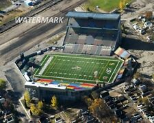 Cfl Saskatchewan Roughriders Aerial View Old Mosaic Stadium Color 8 X 10 Photo