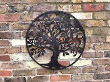 Tree of Life Wall Art-Garden-Bird-Fence-Ornament-Metal-Gift-Present-In//Outdoor