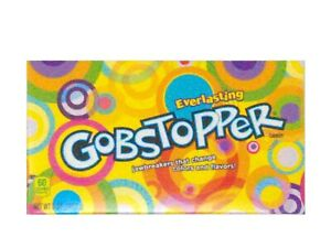 Formally Wonka Everlasting Gobstopper 5oz (141.7g) Theatre Box American Candy