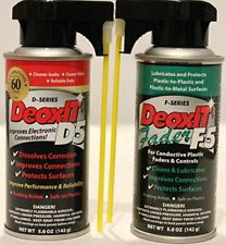 DeoxIt D5S6 Contact Cleaner + F5S-H6 FaderLube bundle New