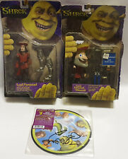 SHREK : LORD FARQUAAD MASCOT, LORD FARQUAAD ACTION FIGURES & RECORD (BY)