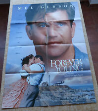 Forever Young Movie Poster, Original, Folded, One Sheet, Used, year 1992, U.S.A.