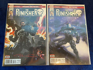 The Punisher 218-219 1st Appearance Of Punisher As War Machine Signed NM W/ COA