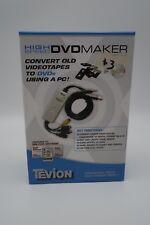 Tevion High Speed DVD Maker VHS & Camcorder Converter w ArcSoft Showbiz Software