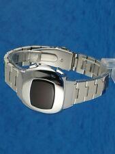RARE OLD STYLE moderno futuristico 70s anni Settanta ERA SPAZIALE Orologio da uomo LED l.e.d 97