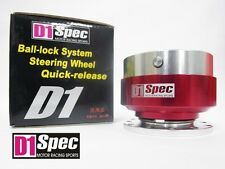 D1 SPEC BALL LOCK QUICK RELEASE HUB STEERING WHEEL HUB D1S-002A RED 1st Gen