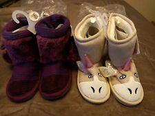 Lot of 2 Pairs - Muk Luks Zoo Babies Booties Size 12 - GallyHo