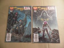 The Darkness vs Eva #4 (Dynamite 2008) 2 Covers / Free Domestic Shipping
