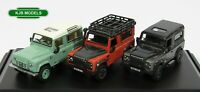 BNIB OO GAUGE OXFORD 1:76 76SET47 Land Rover Defender Heritage Set Of 3 Vehicles
