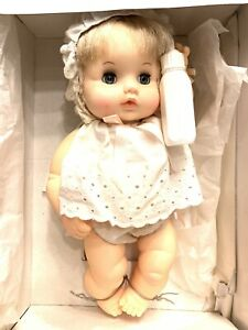 """Vintage 12"""" Butterball On Pillow (With Hair) EFFANBEE Baby Doll W/ Box - FB4263"""
