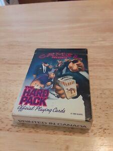 Vtg Camel Cigarettes Playing Cards The Hard Pack 1991 Smokin' Joe Advertisement