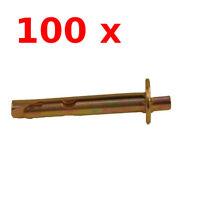 100 Stk. Deckennagel - Metallschlagdübel 6 x 65 mm Deckendübel Deckenanker 100x