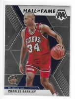 2019-20 PRIZM-MOSAIC CHARLES BARKLEY HALL OF FAME #282 PHILADELPHIA 76'ERS