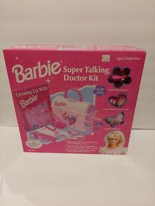 Barbie Super Talking Doctor Kit Doctor Barbie Mattel 1997 Vintage New Open Box