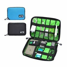 Waterproof Shockproof Travel Cable USB Organizer Digital Storage Bag Case Pouch