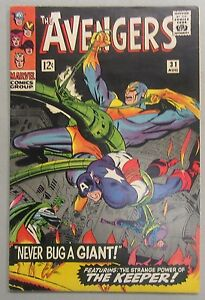 Avengers #31 Stan Lee Kirby Captain America 1963 Marvel Comics GD/VG