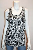 edited Brand Animal Print Sleepwear Tank Top Size 14 BNWT #SD60